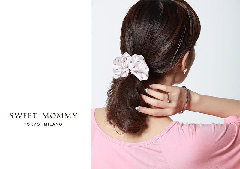 授乳服とマタニティウェアの通販スウィートマミーがおすすめする美人ヘアゴム