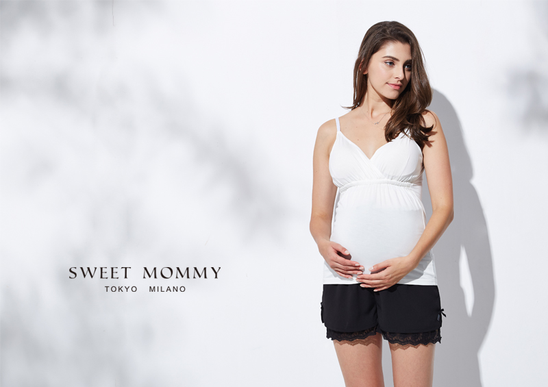授乳服とマタニティウェアのスウィートマミーがおすすめする産前産後兼用マタニティペチパンツ