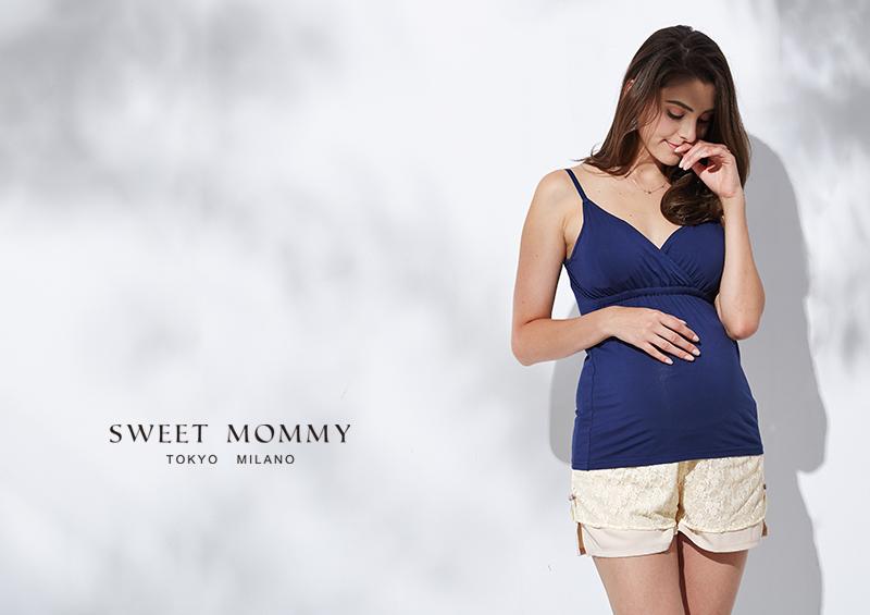 授乳服マタニティウェアのスウィートマミーがおすすめする産前産後兼用マタニティぺチパンツ