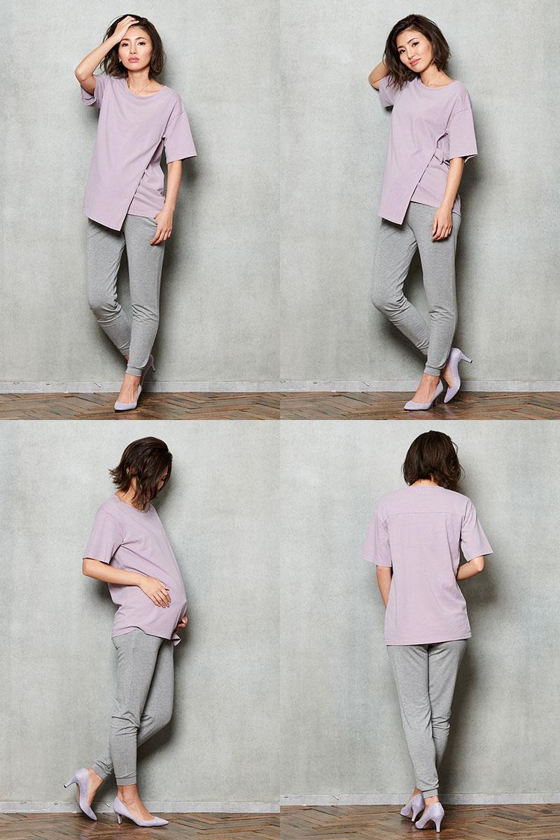 妊婦さんの運動着としてもおすすめ