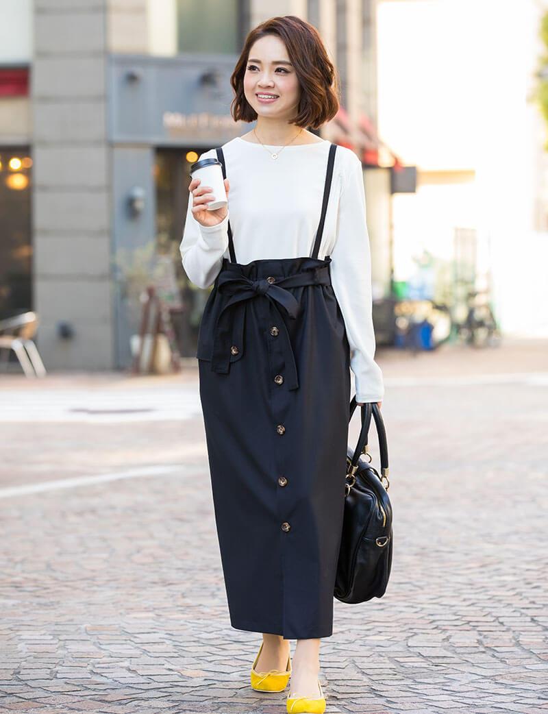 すっきりIラインスカート