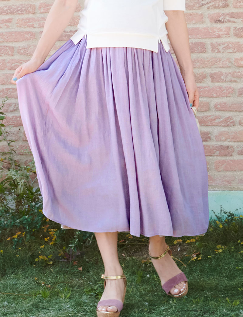 産前産後兼用プチマキシスカート
