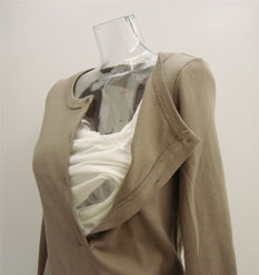ヘンリーネック授乳チュニックTシャツ 授乳服[st0261]