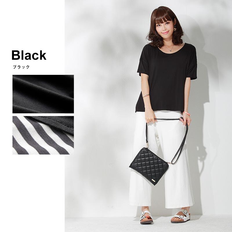 授乳服 ブラック