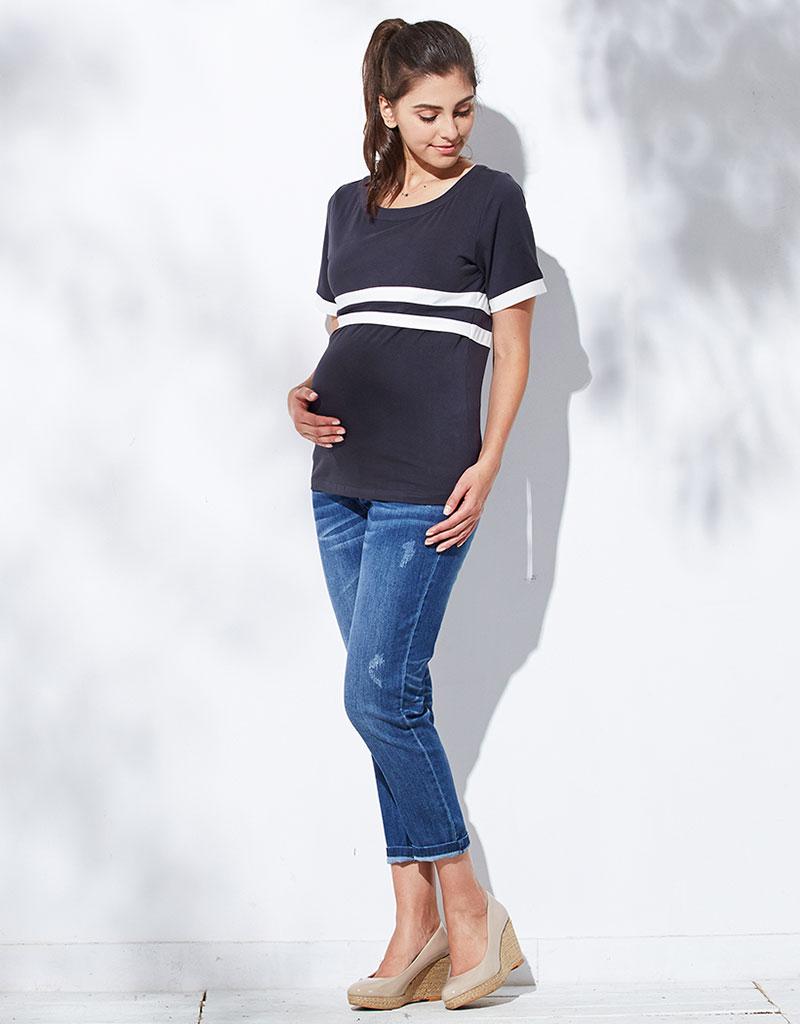 授乳服に見えないから産後もなが~くご着用いただけます