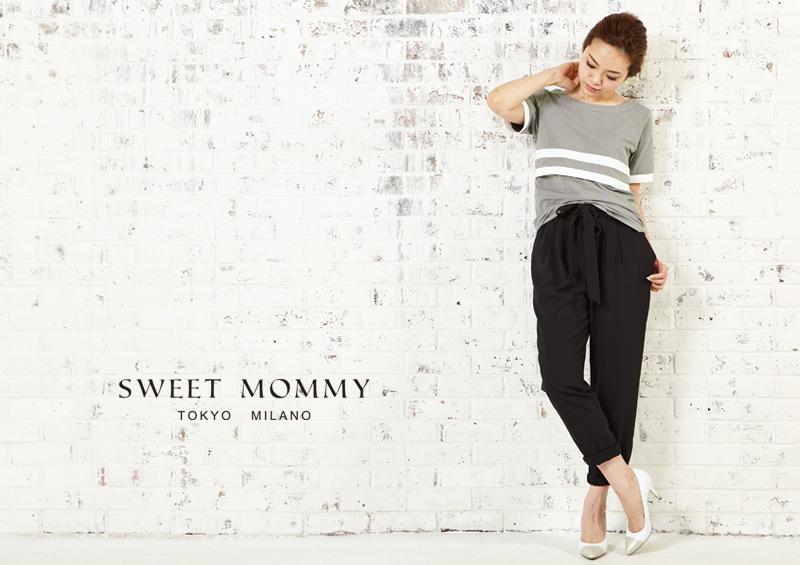 授乳服とマタニティウェアのスウィートマミーがおすすめするカジュアル授乳服Tシャツ