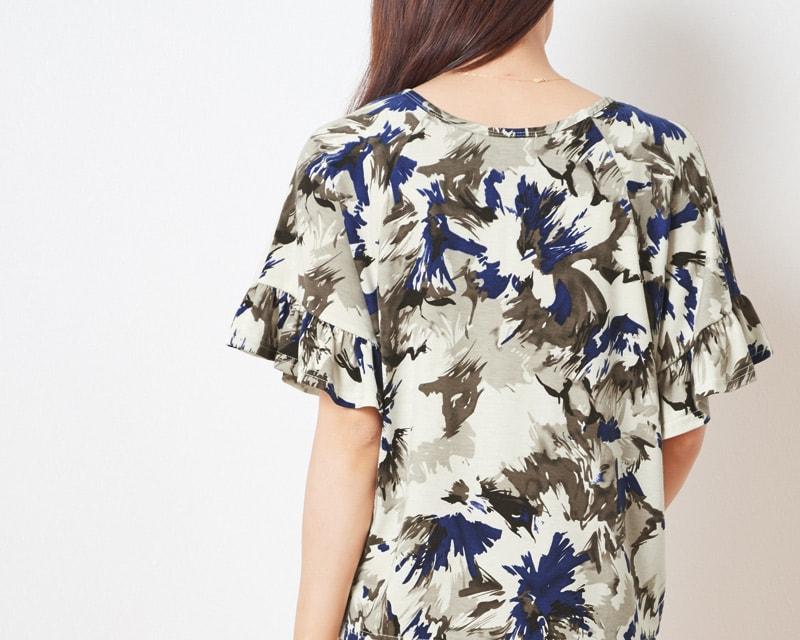 背中美人な授乳服Tシャツ