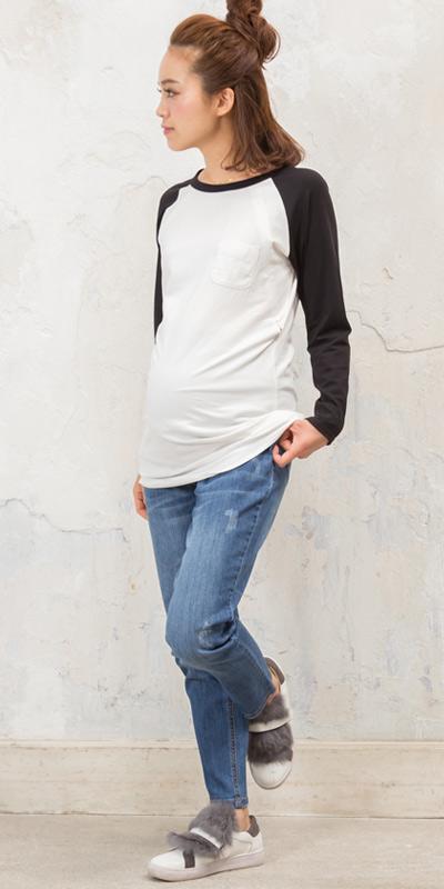 産後ママでも安心のわかりにくい授乳服