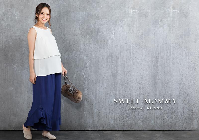 SWEETMOMMYの授乳服、マタニティウェア