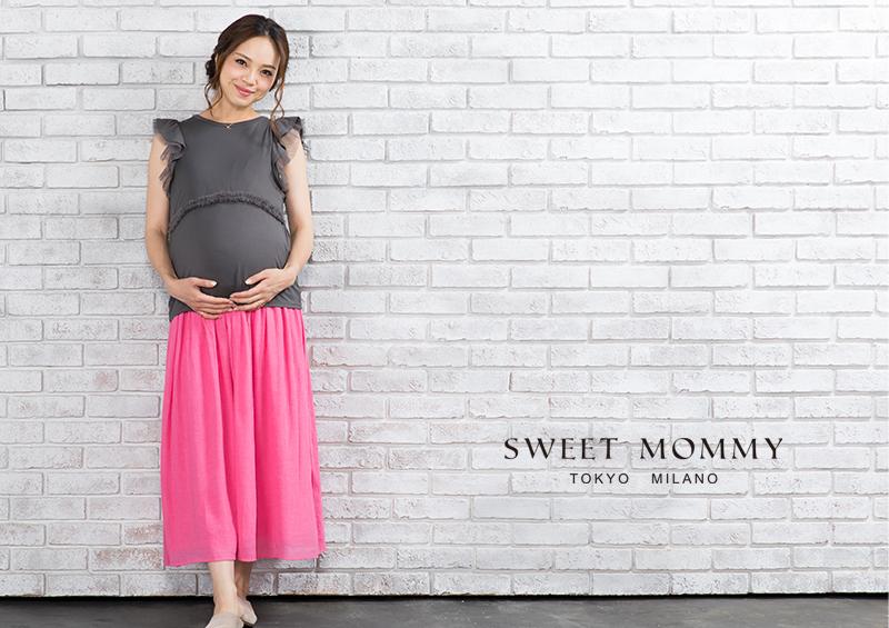 授乳服とマタニティウェアの通信販売のスウィートマミーがおすすめする涼感授乳服トップス