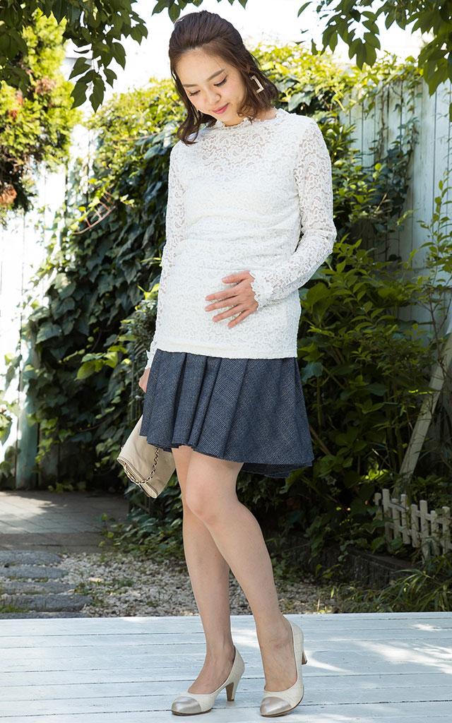 安田美沙子さん着用のおしゃれコーデ