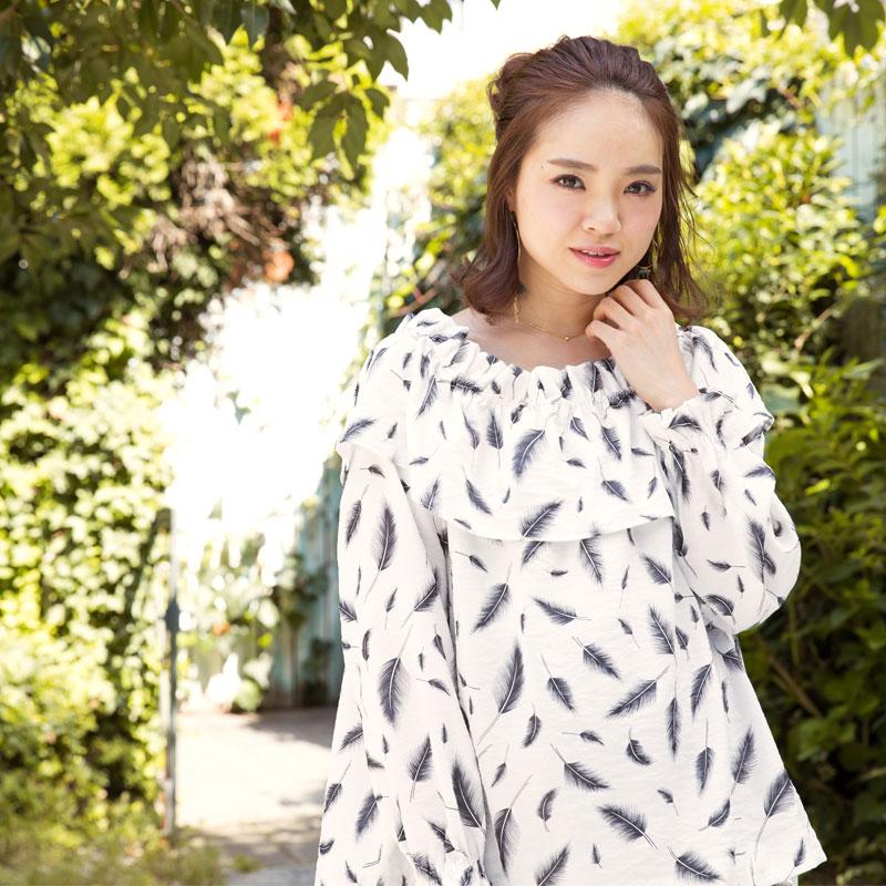 春名亜美さんが着る授乳服マタニティ