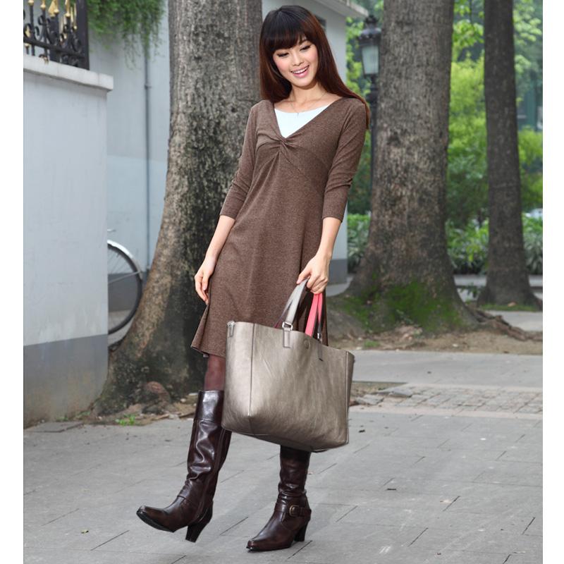 秋冬のおでかけカジュアルにおすすめな授乳服