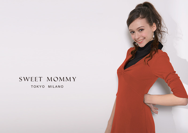 スウィートマミーおすすめの着やせ効果抜群の授乳服ワンピース