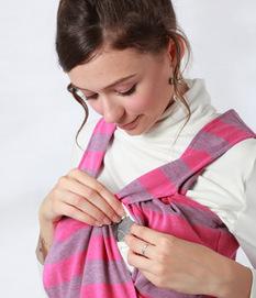 授乳機能付きボーダージャンパードレス 授乳服&マタニティウェア[sw9301]