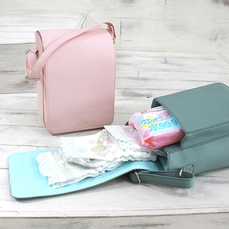 、機能性と使いやすさの詰まったランドセル型おむつバッグ
