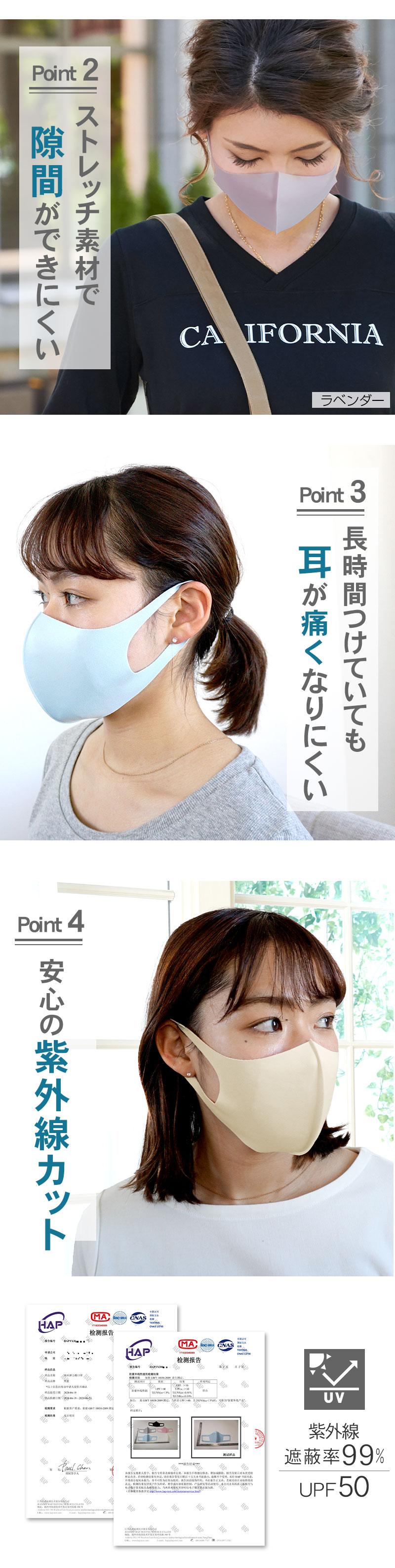 快適 立体マスク