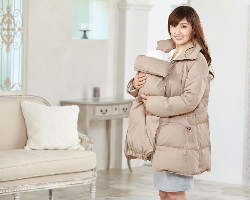 熊田曜子さんが着るママコート