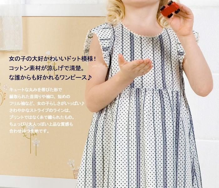 ★スウィートフェアリーズ★ ドットプリントコットンワンピース